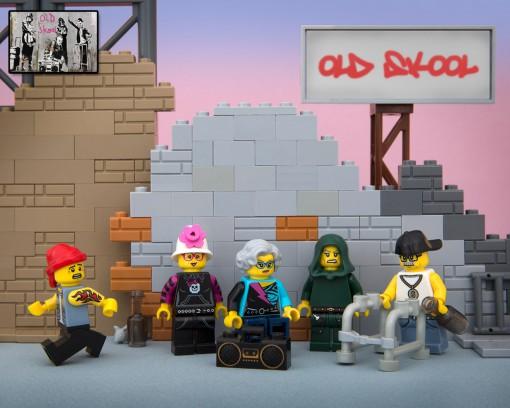 Banksy Lego Old Skool