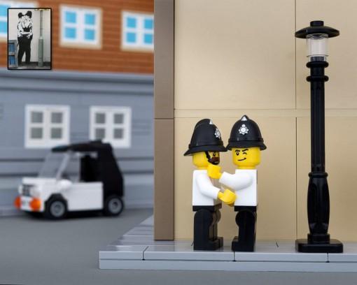 Banksy Lego Police