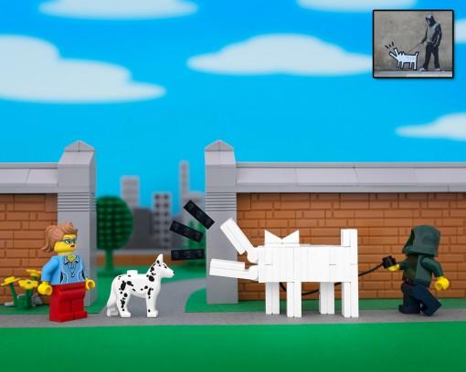 Jeff Friessen Lego Banksy