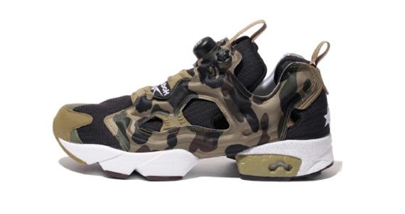 BAPE x mita sneakers x Reebok Insta Pump Fury2