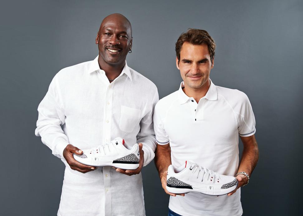 Michael Jordan X Roger Federer