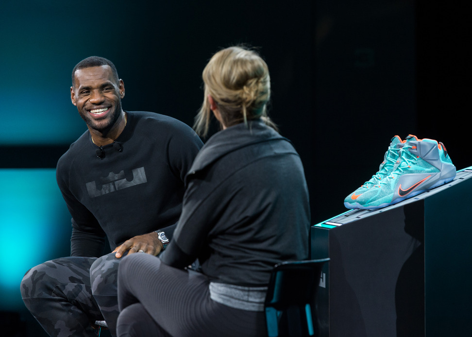 Lebron James Interview Nike Lebron12