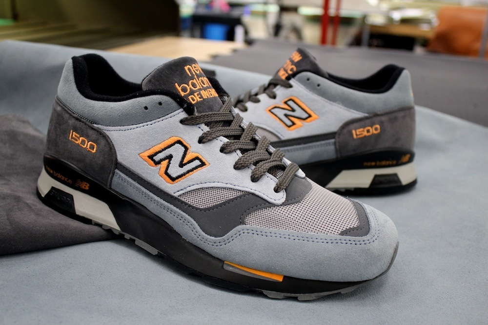 huge selection of 4aa90 aa54f ... New Balance 1500 x Starcow Paris - Made In England - Grey2 ...