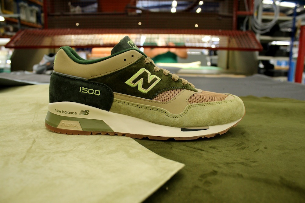 New Balance 1500 x Starcow Paris - Made In England - green