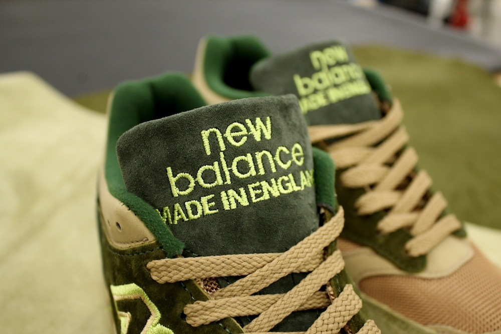New Balance 1500 x Starcow Paris - Made In England - vert2