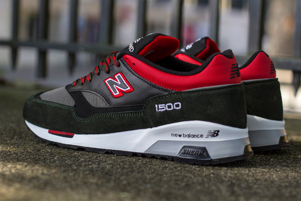 New Balance M1500RGR Made in UK Green Red