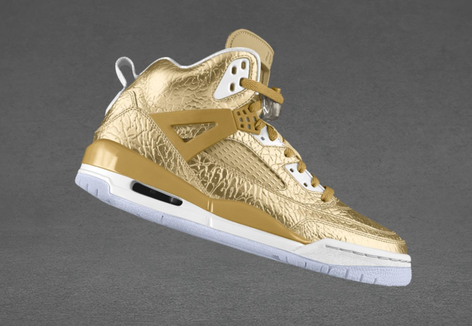 Air Jordan Spizike Options Liquid Gold Metal
