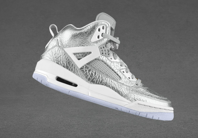 Air Jordan Spizike Options Liquid Metal