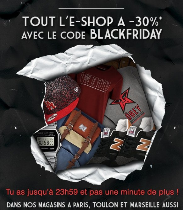 Black Friday Citadium 2014