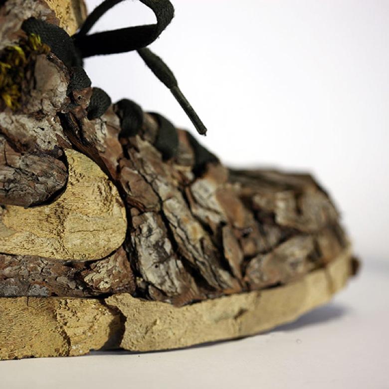 Les sneakers Nike végétales de Monsieur Plant4