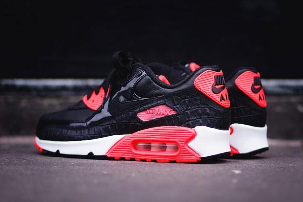 Details Nike AIr Max 90 Infrared Croc 2015
