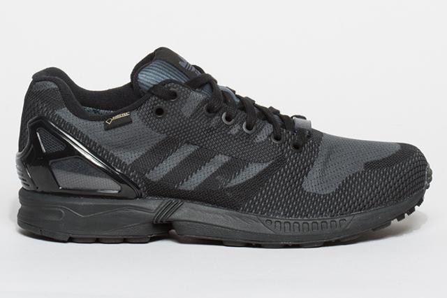 Détails de la basket running Adidas ZX Flux Weave OG Gore-Tex