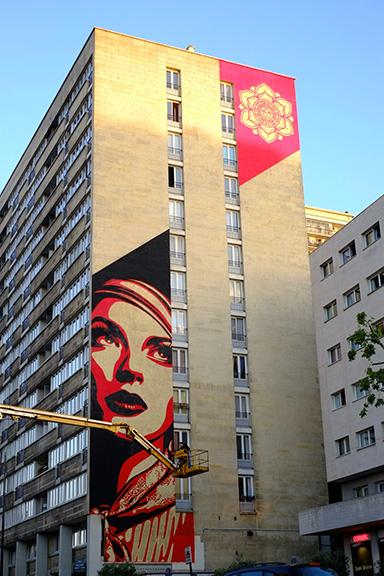 Parcours street art paris 13eme sneak art for Maison du monde 57 avenue d italie