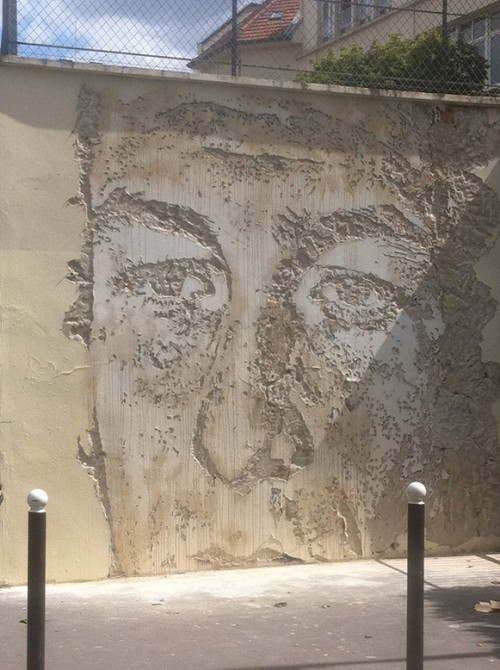 Fresque mural Street Art Paris 13 -Vihls