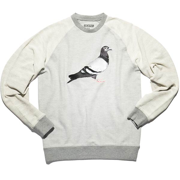 Sweat-staple-NEWPORT_CREWNECK-heather_grey-1