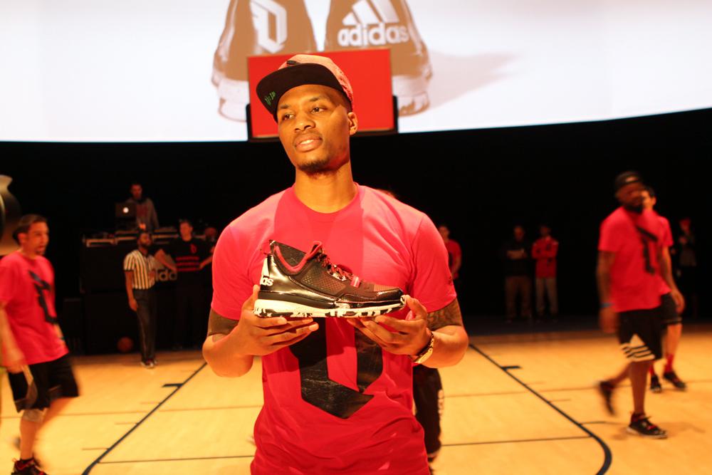 Damian Lillard sneaker Adidas D Lillard 1