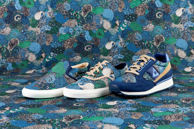 Le Coq Sportif X Liberty Midnight blue