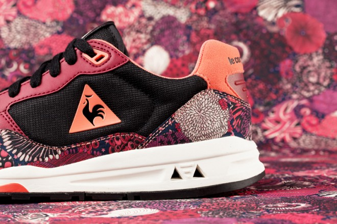 Le Coq Sportif X Liberty of London Zenith ruby 660x439
