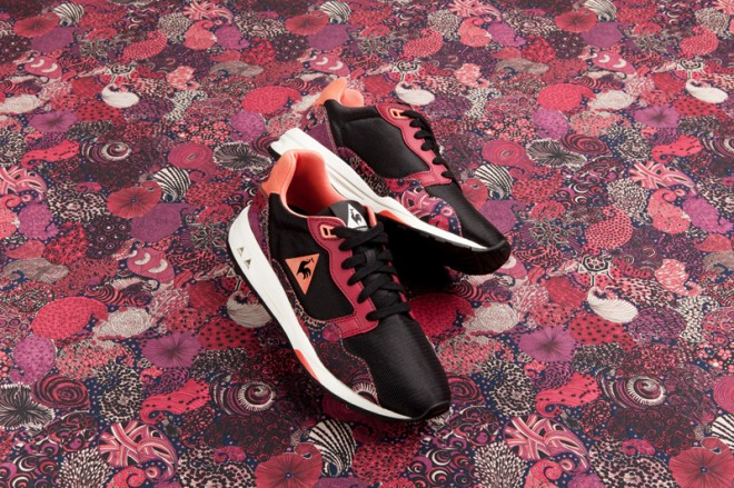 Le Coq Sportif X Liberty of London modele Zenith ruby