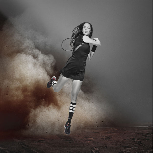 Ana Ivanovic adidas Roland Garros Collection by Y-3