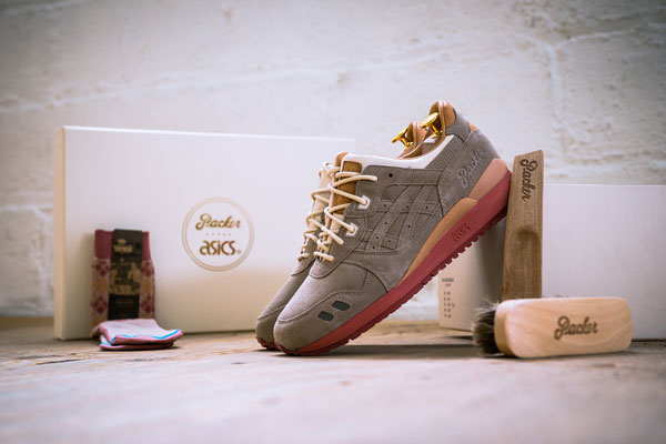Packer Shoes x ASICS Gel Lyte III Dirty Buck