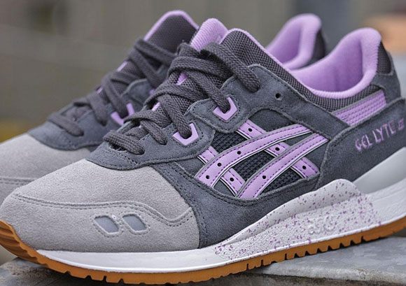 "Asics Gel Lyte 3 Wmns ""Dark Grey / Lilac"""