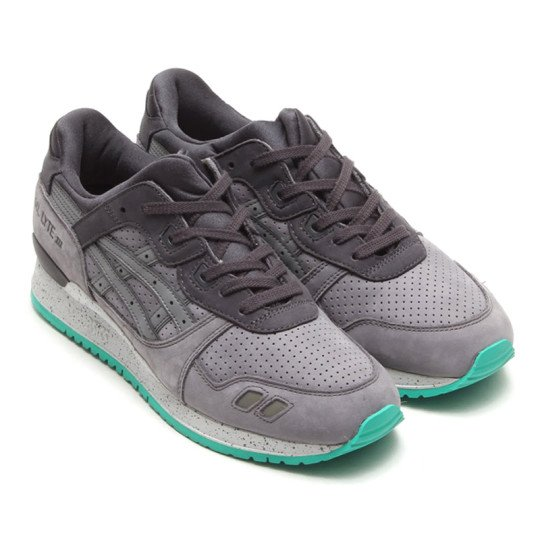 Asics Tiger Gel Lyte III Grey Mint Speckled