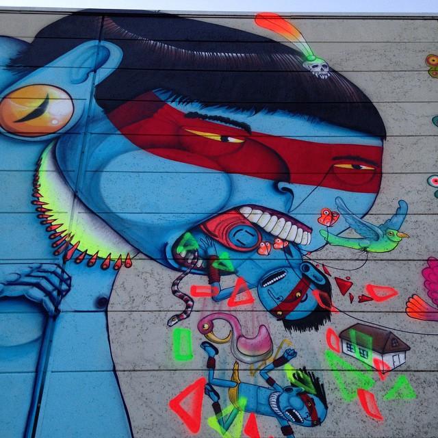 Cranio Street Art Evry