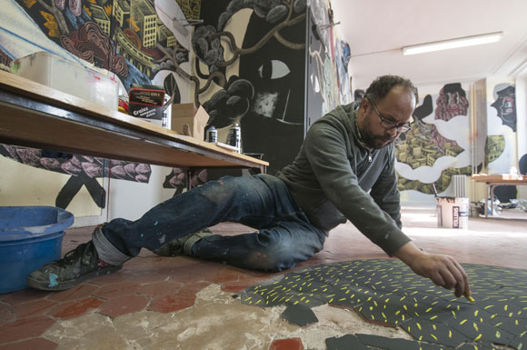 Aux Tableaux! artiste Gilbert Mazout