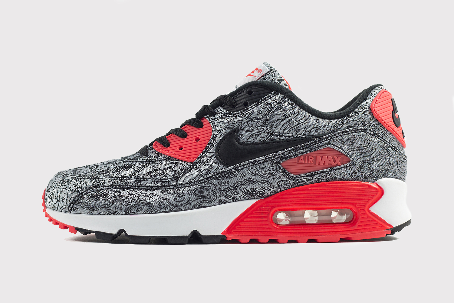 Nike Air Max 90 25th Anniversary Collection paisley photo