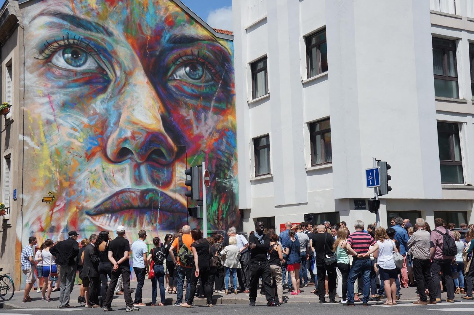 David Walker Street Art Nancy 2015