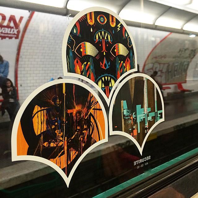 Francs Colleurs Collage Metro Parisien
