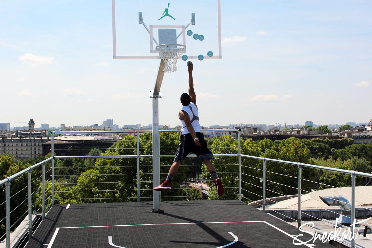 Air Time Challenge Nike Jordan 30 Palais 23