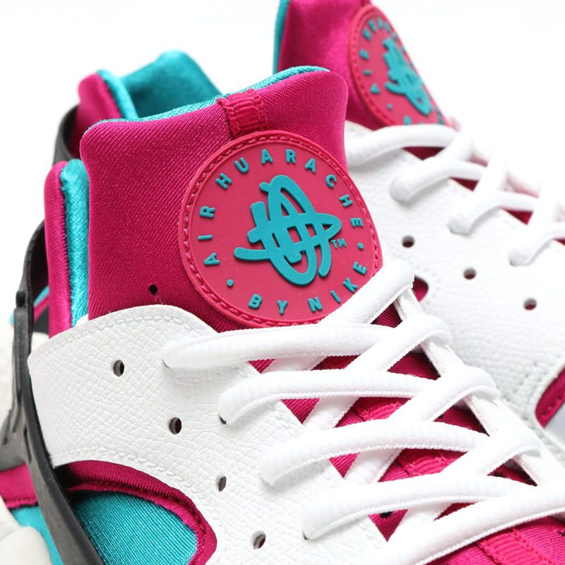 Air Huarache Emerald Fushia