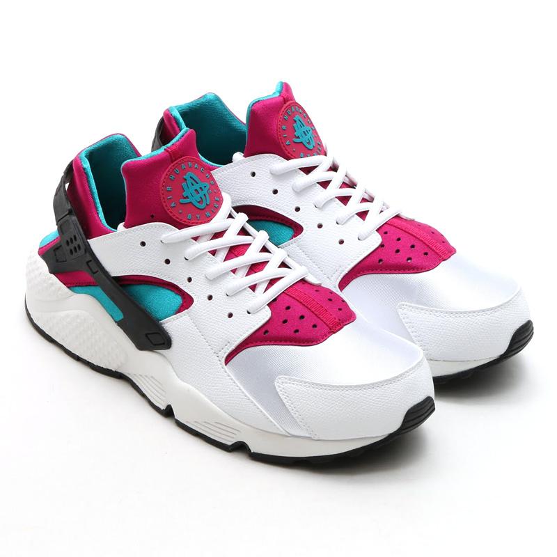 Nike Air Huarache Emerald Fushia 634835_107