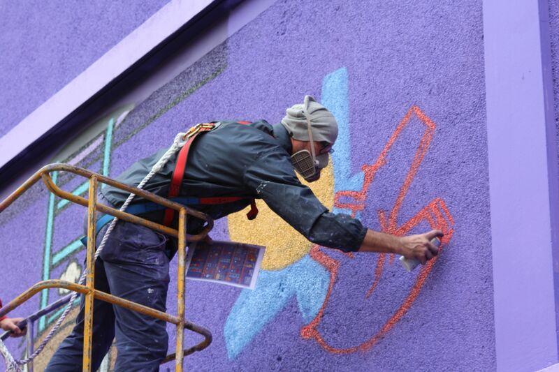 Jace Gouzou Street Art Paris 13