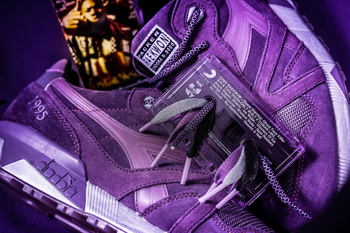 Packer Shoes Raekwon Diadora N9000 Purple Tape