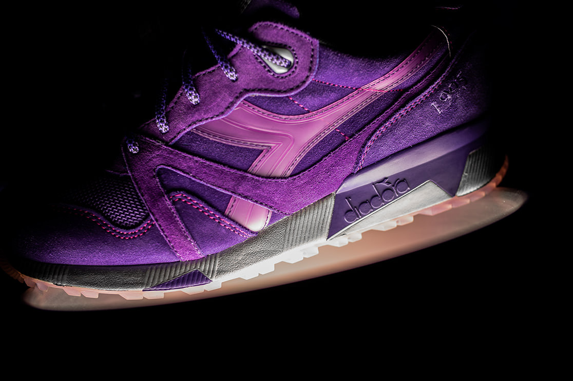 Packer Shoes X Raekwon XDiadora N9000 Purple Tape