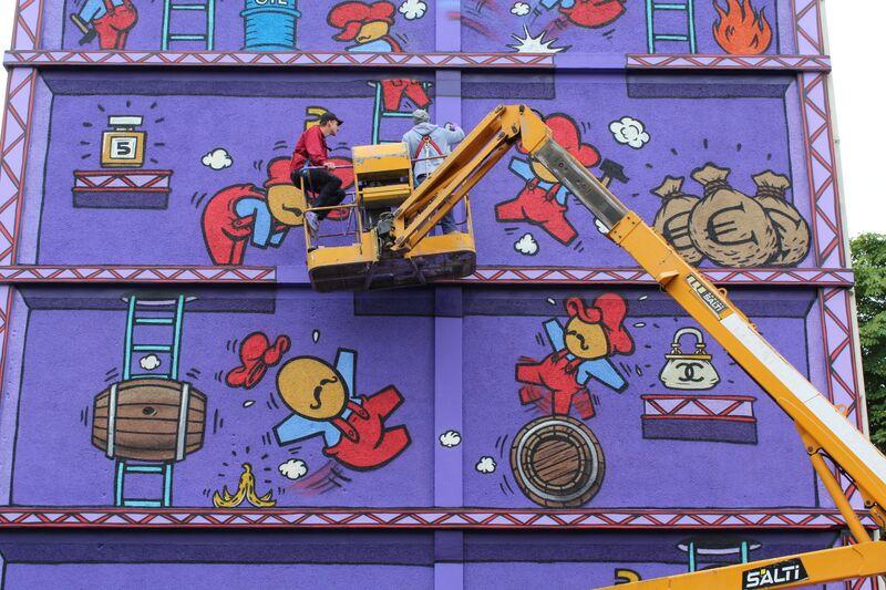 Street Art Jace Paris 13e Paris Galerie MathGoth