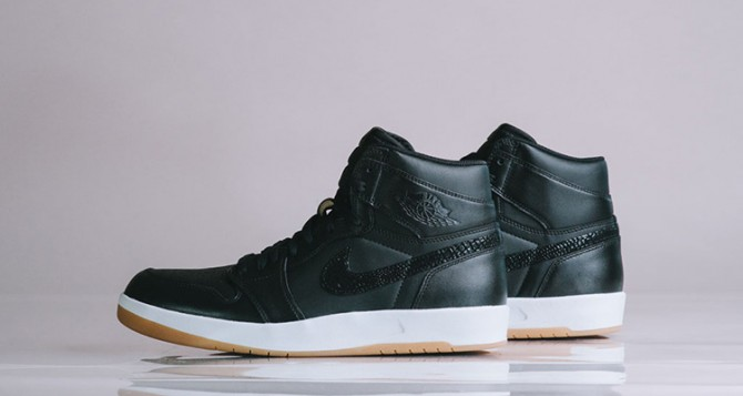 "Air Jordan 1.5 ""The Return"" Black Gum"