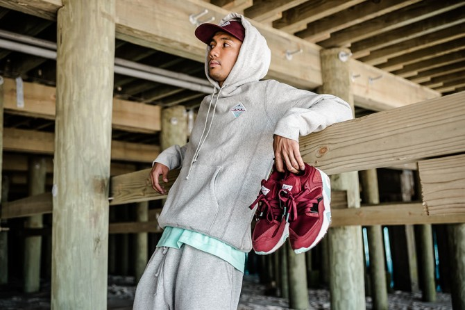 Collection Puma Blaze of Glory Bloodbath X Sneaker Freaker X Packer Shoes