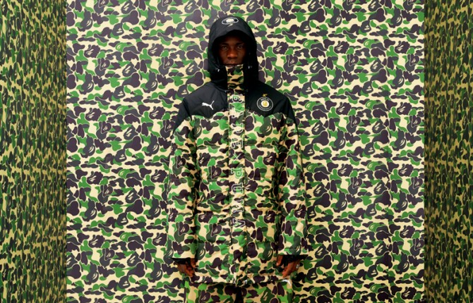 A bathing Ape X Puma Collaboration Collection