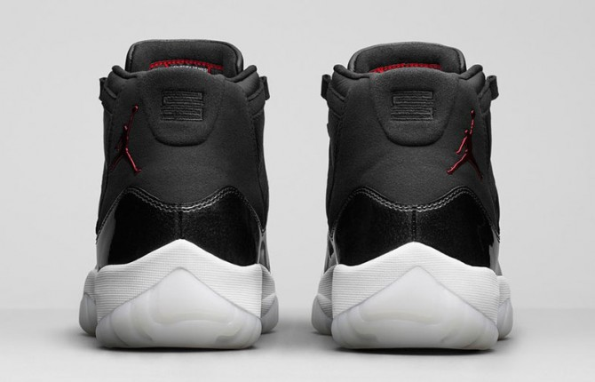 Air Jordan 11 72-10 images officielles