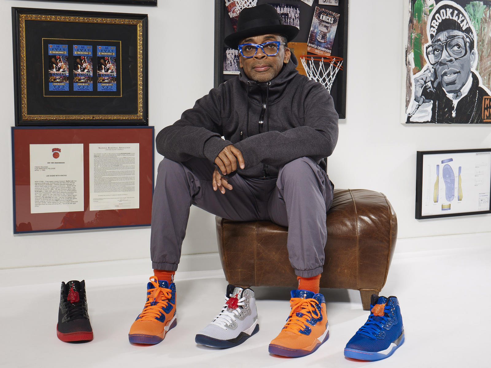 Air Jordan Spike Forty - Spike Lee