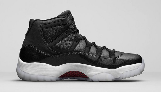 Air Jordan XI 72-10 Photo Officielle