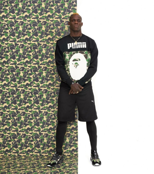 Lookbook Mario Balotelli Puma Bape 2015
