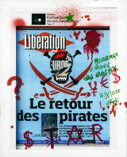 Jacques Villéglé Liberation Artistes à la une