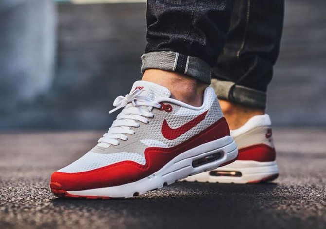 Nike Air Max 1 Ultra Essential Varsity Red OG boxing day