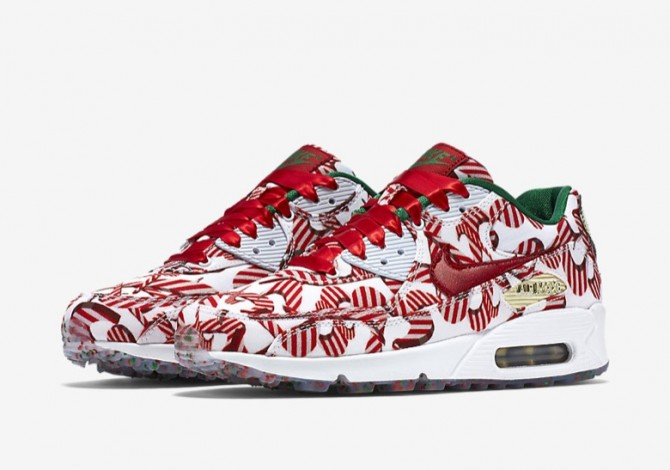 Nike Air Max 90 Femme Christmas 2015
