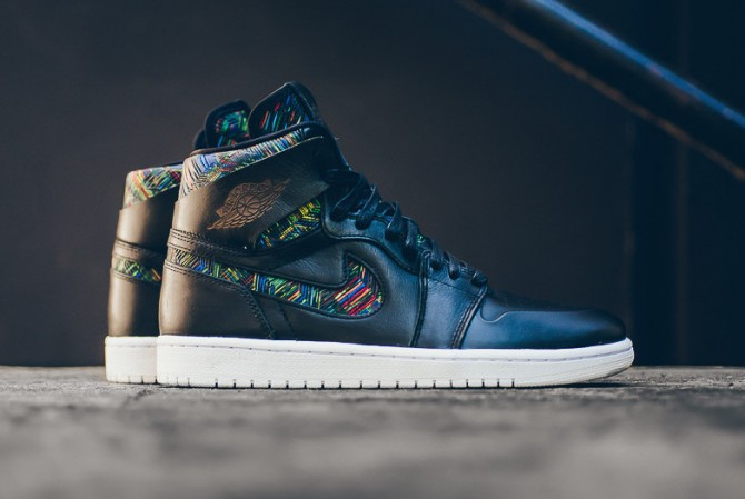 Air Jordan 1 Retro High Nouveau BHM 2016